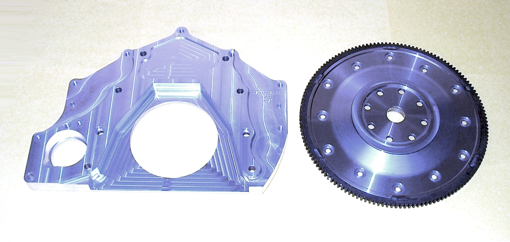 Cummins adapter plate and flywheel