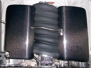 Fiber glass Carbon Fiber Fuel Rail Covers LS1 LT1